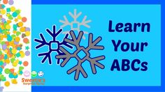 Learning your ABCs is a very important thing! Sweetie is here to help you learn them with a Snowflake theme. Both upper and lower case letters will fall with. Teaching Toddlers Abc, Counting For Toddlers, Counting To 20, Toddler Preschool, Learn To Count, Learning The Alphabet, Lower Case Letters, Pre School, Snowflakes