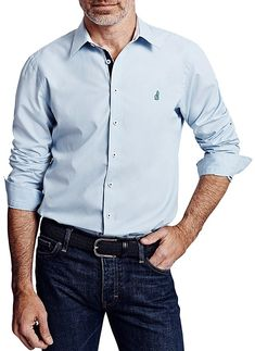Thomas Pink Lowe Plain Button-Down Shirt - Bloomingdale's Classic Fit