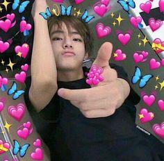 65 new ideas for memes faces bts heart Taehyung Memes, Bts Taehyung, Foto Bts, K Pop, Namjoon, Bts Emoji, Emoji Pics, Sapo Meme, Super Memes
