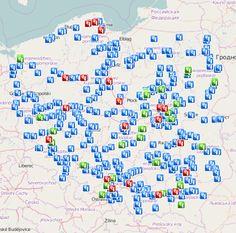 Anuluj Mandat - Mapa fotoradarów