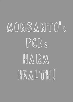 "The linked study found that ""a subset of persistent environmental chemicals were associated with reduced fecundity."" The pollutants linked to reduced fertility include some PCBs. PCBs, which are hard to escape, were brought to us courtesy of #Monsanto (the company now spending enormous amounts of money trying to ""influence"" governments so its GMOs will not have to be thoroughly, independently, long-term safety-tested before introduction)."