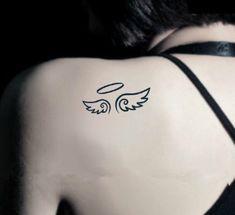 Demon et ange tatouage temporaire par liovena sur Etsy