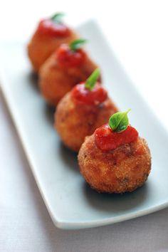 Arancini by Kevin Burg - Recipe - Tasty Planner