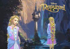 Rapunzel Braid for Girls at My Stuff via Sims 4 Updates