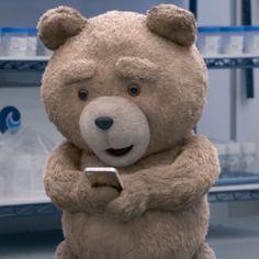 Ted use telephone