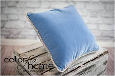 One of our favorite. In baby blue color, Nice Blue. You can buy it or by http://sklep.colorforhome.pl/ or writing directly to us at team@colorforhome.pl #velvet #velvetpillow #bluepillow