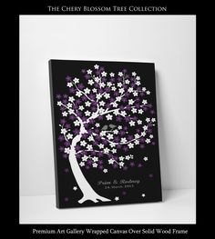 Custom Wedding Guest Book Tree  Wedding by WeddingTreeGuestbook, $64.00