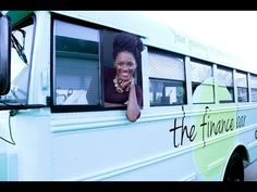 """The Finance Bar - Tiny House Swoon - """"A converted bus office used to help others learn best practices for financial responsibility. Owned and shared by Marsha Barnes of The Finance Bar. Financial Planner, Financial Literacy, Tiny House Swoon, Bus Life, Tough Love, Human Resources, Business Travel, How To Know, Personal Finance"""