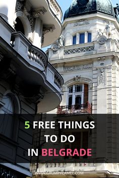 Serbia Guide | Free Things To Do In Belgrade: http://www.grumpycamel.com/free-things-to-do-in-belgrade