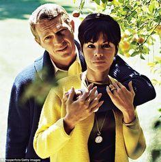 #Sixties   Steve McQueen and Neile Adams