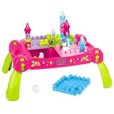 #KidsToysOnSale #PopularKidsToys Just Added In New Toys In Store!Read The Full Description & Reviews Here - Mega Bloks Lil Princess Play-n-Go Fairytale Table -