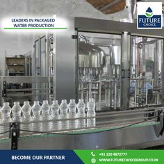 Leading Packaged Drinking Water Brand!  Partner with the leading packaged water production manufacturer.  Know more at www.futurechoicegroup.co.in.  #FutureChoiceGroup | #DrinkingWater | #Beverage | #FranchiseOpportunity | #Business