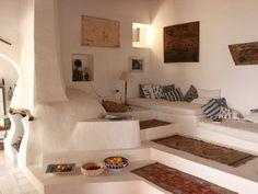Bild Ergebnis für Vacances Villa Panarea - Living Spaces/ Interiors/ Home Maison Earthship, Earthship Home, Villa, Trendy Home, Home Design, Modern Design, Design Ideas, Home And Living, Interior Architecture