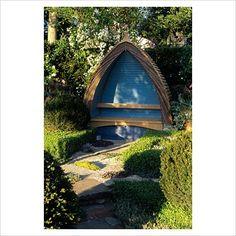 garden seat /shelter