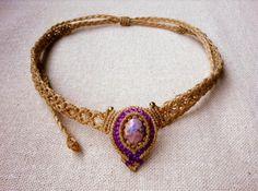 Handgefertigte magische Opal Makramee Boho Chic von WahLoveMacrame
