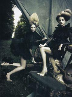 Paolo Roversi for Vogue Italia.