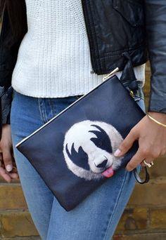 Panda Pouch / Make Up / Accessory / Clutch Bag