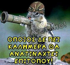 Funny Greek Quotes, Animals And Pets, Humor, King, Pets, Humour, Funny Photos, Funny Humor, Comedy