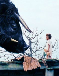 Beasts of the Southern Wild. Strange movie - - I almost bailed on watching it a few times. But the final scene (pictured here) is a payoff very much worth waiting for.