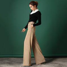 가을 봄 2013년 새로운 스타일의 공식적인 여자 높은 허리에 넓은 다리 4xl 플러스 크기 드레스 바지 슬림 여성 캐주얼 패션 바지-에서설명색상:같은 그림은 보여상태: 100% 새로운기원: 중국에서 만든매우 간단, 우아하고 세련된! 이번 시즌 적합합니다소재는 당신에게 편안한 느낌을 제공.크기:7 크기대부분의 여성과 소부터 바지 & 카프리 의 Aliexpress.com | Alibaba 그룹