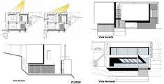 Casas en pendiente: 17 ejemplos de cómo adaptarse a un terreno inclinado - AboutHaus Houses On Slopes, Modern Architecture House, Floor Plans, How To Plan, Style, Home Architecture, Minimalist Home, Tiny House Plans, Simple House