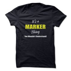 It's a MARKER Thing T-Shirts, Hoodies. GET IT ==►…