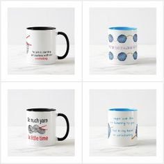 Crochet - mugs with humour, all available to buy from Zazzle