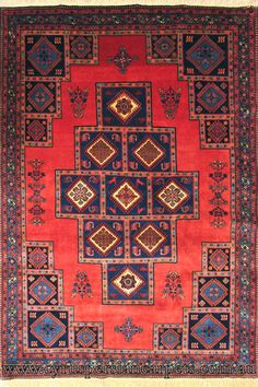 Yalameh Medallion Hand Knotted Wool Rug