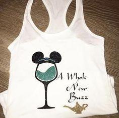 Disney A Whole New Buzz Jasmine Aladdin Epcot Food Festival Shirt Disney Crafts, Disney Fun, Disney Style, Disney Trips, Disney Family, Disney Magic, Disney Shirts, Disney Outfits, Disney Fashion