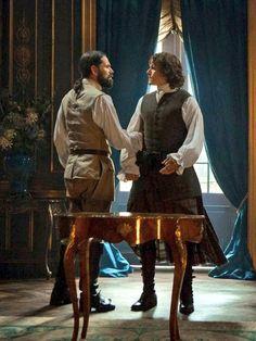 Murtagh & Jamie-Outlander Season 2 - Dragonfly In Amber.
