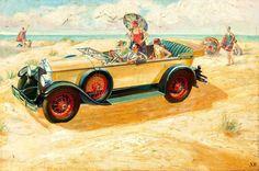 1920s summertime fun! #vintage #1920s #cars