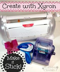 Featured Product Friday: {Creating with Xyron} Projects, tips and More! | Pluckingdaisies.com