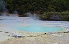 3 km walk around the Geothermal area of      Wai o tapu, Rotorua