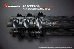 Manfrotto 055CXPRO4  Four section legs: http://tazintosh.com #FocusedOn #Photo #missing value