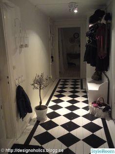 Inspiration för rutigt golv (15 bilder)