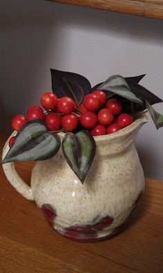 Red Berry Pitcher
