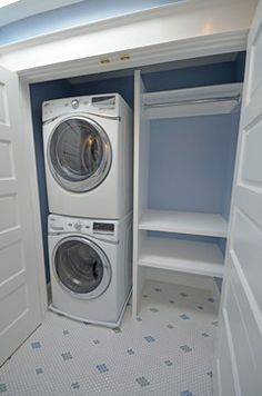 Genial Small Laundry Closet Design, Pictures, Remodel, Decor And Ideas | Kitchen |  Pinterest | Compact Laundry, Laundry Design And Small Laundry Closet