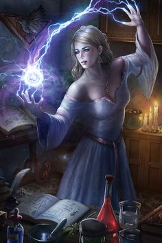 Amy Graine - Master of White Magic by tjota on DeviantArt