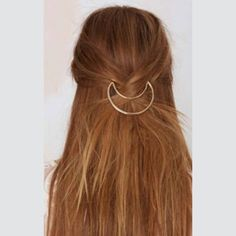 LAST ONE Abby Crescent Hair Pins Crescent shaped hair pin. Comes in packs of two - one gold and one silver. Vega Boutique Accessories Hair Accessories