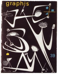 Olle Eksell, 1962 Graphis magazine cover