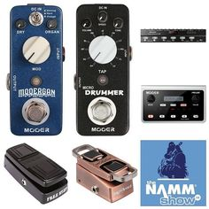 Interesting! @mooeraudio brings several new pedals including the Mooergan (organ sim) and Micro Drummer to NAMM! (fxdb.org/namm or profile link)  #namm #namm16 #namm2016 #nammshow #nammshow16 #nammshow2016 #thenammshow #effectsdatabase #fxdb