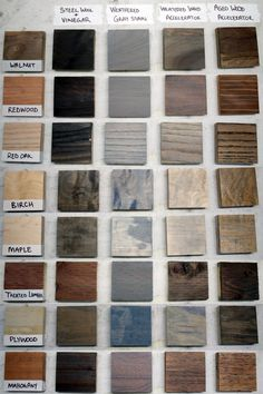 Aging wood with steel wool and vinegar is a really simple process, but depend. Weathered Grey Stain, Oak Stain, Grey Wood, Steel Wool And Vinegar, Types Of Hardwood Floors, Different Types Of Wood, Wood Types, Wood, Furniture