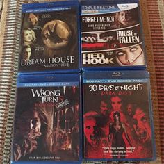 BluRay pack from Feb. 2016! So much fun.