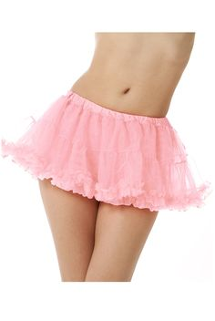 Costume Pettiskirt available in many colors.  Very short, perfect for Halloween.
