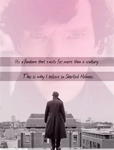 Click to see the gif.     In 1893, Sherlock fans dressed up in black to mourn his death. In 2012, Sherlock fans are putting up posters all around the world.