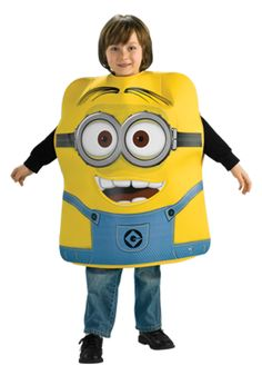 The Minions are helping Gru with his steal-the-moon plot! Dress the part of a Minion with this fun foam costume from the movie Despicable Me. Minion Halloween, Diy Minion Kostüm, Minion Dave, Toddler Boy Halloween Costumes, Halloween Activities, Halloween Ideas, Xmas Ideas, Minion Costumes, Carnival