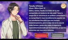 Personaje Tasuku Ichinose - Mi Extraño Amor