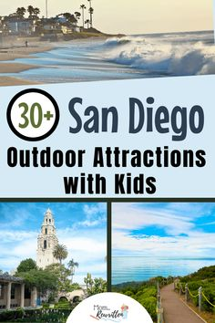 Looking for things to do with kids outside in San Diego? Get all tips on these awesome outdoor attractions in the Southern California city including beaches, hiking trails, parks and theme parks. Plenty of free and low cost options as well as outdoor dining suggestions. #SanDiego #SoCal #California #Travel #TravelwithKids #FamilyTravel Cruise Excursions, Cruise Destinations, Shore Excursions, California City, California Travel, Southern California, Travel With Kids, Family Travel, Santee Lakes