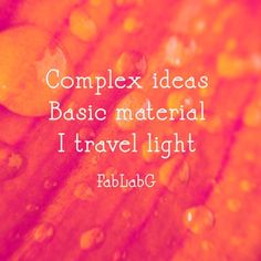 "Complex ideas basic material  I travel light ""Learn to Learn"" Teacher Pioneer Job Anywhere anytime  #timetraveler #education #sxsw #sxswedu #sxsw2018 #creative #makinglearningvisual  #makinglearningvisible From #downtoearth to #abstracts  #outlander #mitloe #nyu #mit #tech #edtech #AI #VR #nyc  #glasgow #edinburgh #austin #instagood #maths #arts #languages #transdisciplinary"
