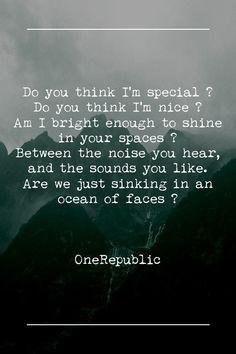 """All The Right Moves"" - OneRepublic. ♥"